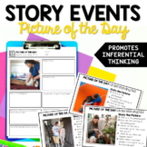 Plot and Story Events - Picture of the Day Reading Routine