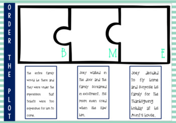 Plot (beginning, middle and end) Boom Cards