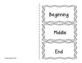 Plot (beginning, middle, end) Foldable