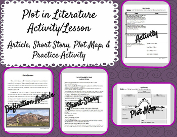 Plot in Literature Activity