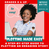 Plot Structure, Creative Writing, Narrative Writing, No Prep Distance Learning