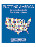 Plotting America: Coordinate Plane Graphing in Four Quadrants