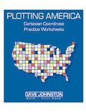 Plotting America: Coordinate Plane Graphing in Four Quadrants