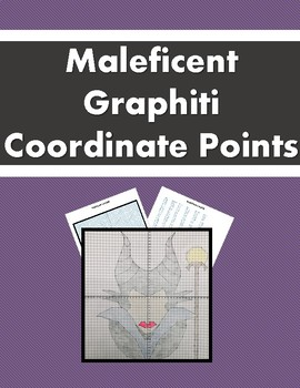 Plotting Coordinate Points Maleficent Graphiti The Fun Way By