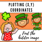 Plotting Coordinate Points - St. Patrick's Day Hidden Images