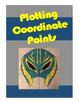 Plotting Coordinate Points - Wrestler's Mask Graphiti