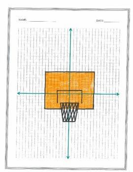 Plotting Coordinates (Basketball Hoop)