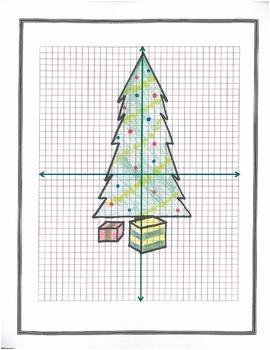 plotting coordinates christmas tree by ds2 teachers pay teachers. Black Bedroom Furniture Sets. Home Design Ideas
