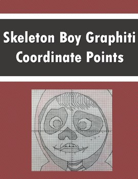 Plotting Coordinates!  Coordinate Point Graphiti - Skeleton Boy