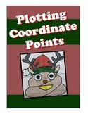 Plotting Coordinates Graphiti Christmas Reindeer Emoji (Graphing)