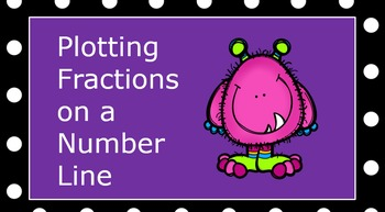 Fractions on a Number Line PowerPoint