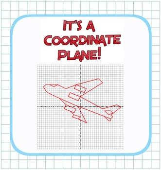 Plotting Integers - Coordinate Plane Fun! - Grid & Ordered Pairs - 4 Quadrants