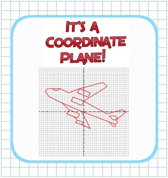 Plotting Integers - Coordinate Plane Fun! - Grid & Ordered