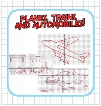 Plotting Integers - Coordinate Planes, Trains, and Automob