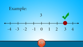 Plotting Numbers on a Number Line Lecture Video