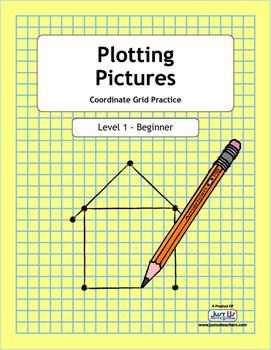 Plotting Pictures - Level 1 Coordinate Grid Practice