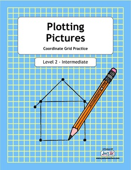 Plotting Pictures - Level 2 Coordinate Grid Practice