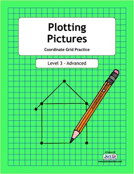 Plotting Pictures - Level 3 Coordinate Grid Practice