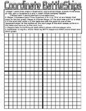 Plotting Points Battleships Game (Cartesian Plane)