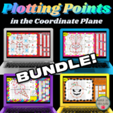 Plotting Points in the Coordinate Plane DIGITAL BUNDLE for