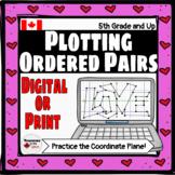 Plotting Points on a Coordinate Plane Digital Valentine's Day Activity