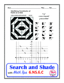 Plotting Points on a Coordinate Plane Search and Shade 6.NS.C.6.C