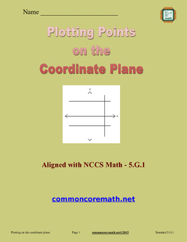 Plotting Points on the Coordinate Plane - 5.G.1
