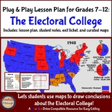 Plug & Play Lesson Plan: The Electoral College