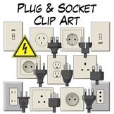 Plug and Socket Clip Art