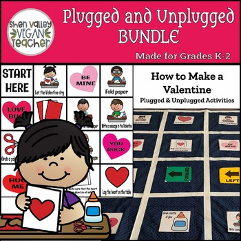 Plugged and Unplugged - Coding Bundle (Bee-Bot & More)- How to Make a Valentine