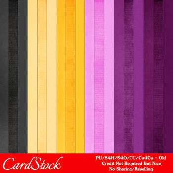 Plum Dreams A4 size Card Stock Digital Papers
