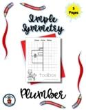 Plumber - Community Helper - Simple Symmetry - Draw Color