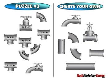 Plumbing Addition - 1st Grade Math Game [CCSS 1.OA.C.6]