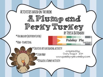 "HOLIDAY: Thanksgiving-""Plump and Perky Turkey"" Acvitivites"