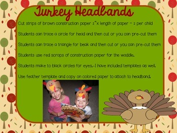 Plump and Perky Turkey Literacy Extensions and more