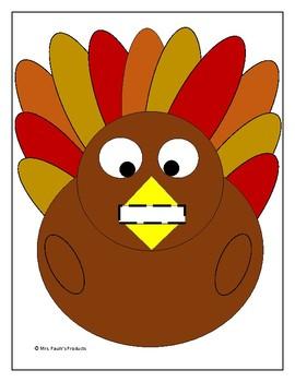 Plump the Turkey Activity