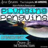 Plunging Penguins:  A Non-Fiction Reading, Science, and Writing Unit