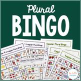 Plural Bingo {Regular Plurals, Irregular Plurals, & Combo}