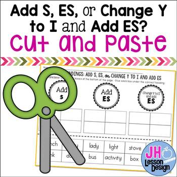 Plural Endings: Add S, ES, or Change Y to I and add ES: Cu
