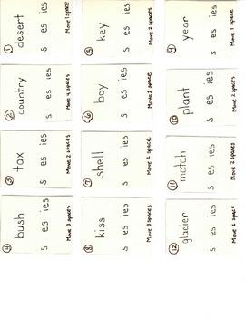 Plural Endings Board Game