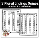 Plural Endings Game: Adding -s, -es and -ies