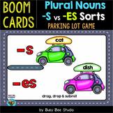 Plural Endings (-s, -es) Sorting Game | Boom Cards