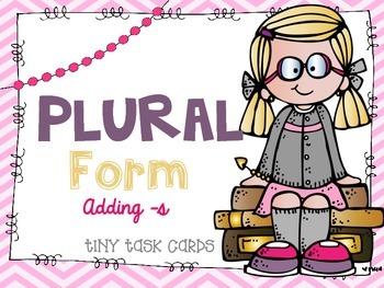 Plural Form Adding -s