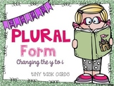 Plural Form Changing y to i and adding es
