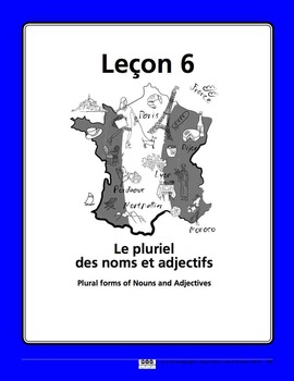 French Plural Song and Writing Activities