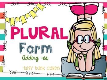 Plural Form Adding -es