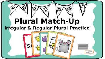 Plural Match Up: Increasing MLU & Identifying Regular and Irregular Plural Forms