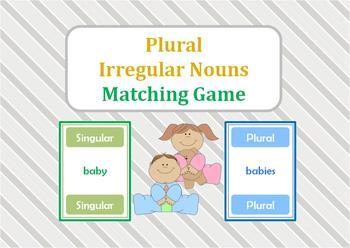 Plural Matching Game