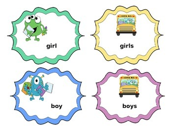 Plural Monsters Go To School