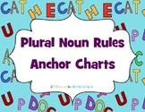 Plural Noun Rules Anchor Charts